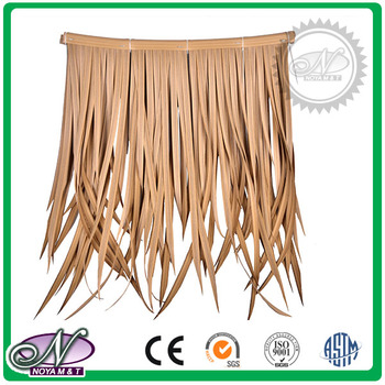 Good quality vivid synthetic thatch tiles