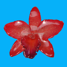 Brooch Handmake Real Resin Coated Orchid