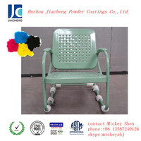 Colorful art decorative epoxy powder coatings for chair