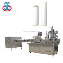 Shanghai Suppier Automatic Aerosol Spray Paint Filling Machine / Production Line