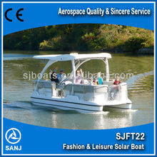 SANJ SJFT22 solar powered Sightseeing Boat with Uznique technology