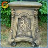 Home and garden fiberstone flower pot stand column decorative outside