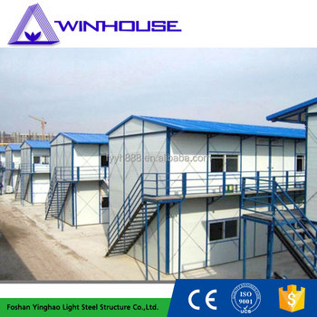Strong Stability Quickly Install Prefabricated Unit Houses