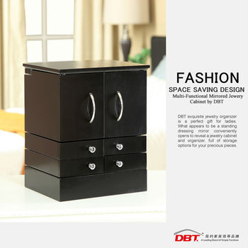 Wooden+MDF Multifunctional Makeup Cabinet for bedroom