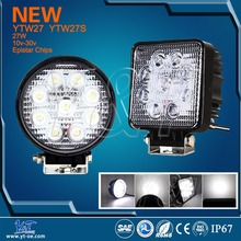 2016 Y&T brand GuangZhou factory big promotion circle type 27w led work lights for truck