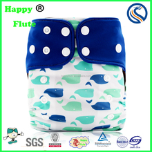 Happy Flute washable net cloth diaper with factory price