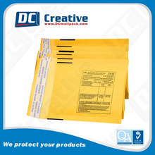 "Wholesale Kraft paper 6 x 9""inches padded envelopes custom logo"