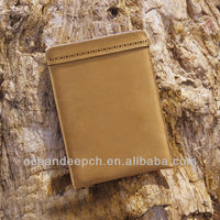 Eco felt bags for ipad mini wool bag leather case
