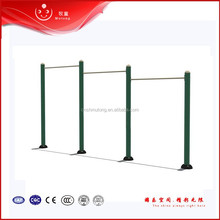 3 person zinc pipe fitness outdoor pull-up bars