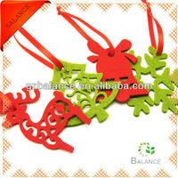 non-woven hanging car mirror accessories/hanging ornament