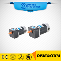 12v electric motor double shaft with speed control
