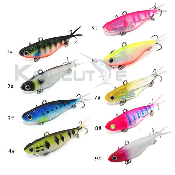 95mm 20g/115mm 35g soft vibe lure lead fish lures CS002 Soft VIBE Lure