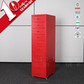 STEELITE Hot Sale Narrow Storage 10 Drawers Used For Study Or Beside Desk Or Other Place