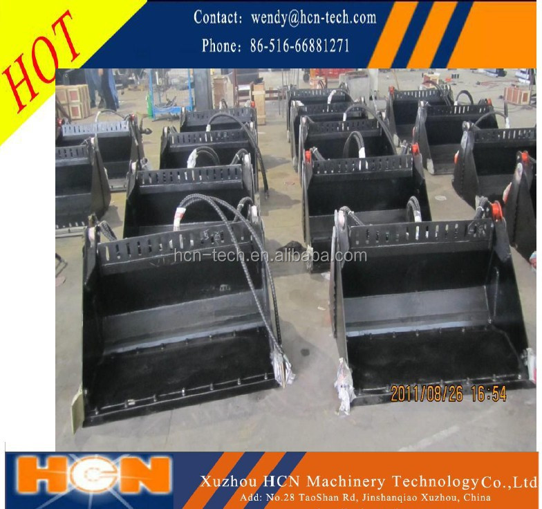 hot sell HCN brand new 0104 series bobcat 4 in 1 bucket with cheap price