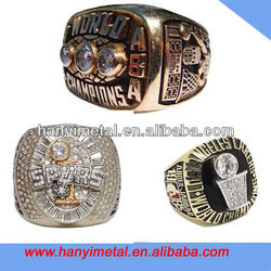 Fashion metal sports basketball championship rings