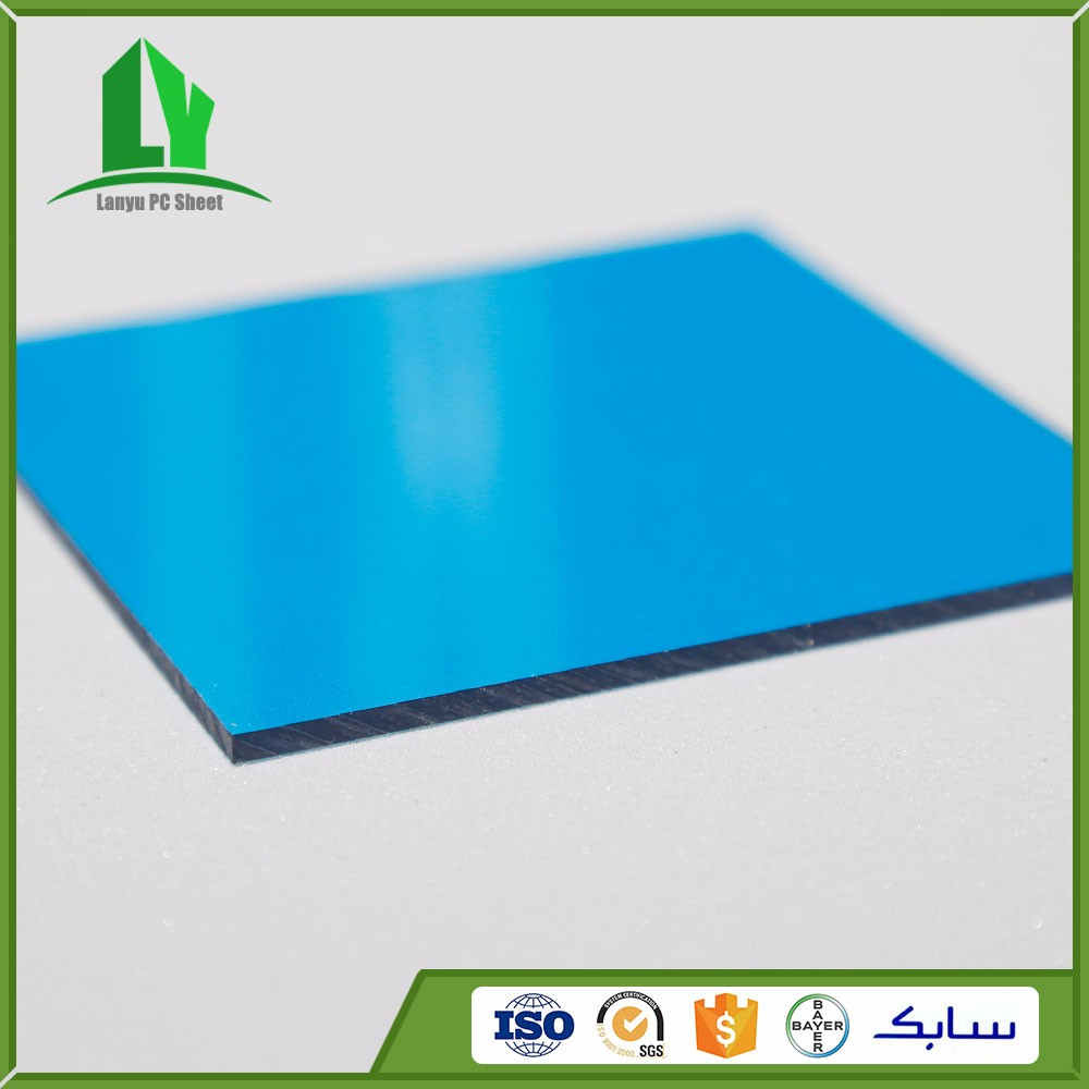 Lanyu lexan resin high quality polycarbonate metal parking canopy