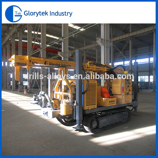 Drill Machine Crawler Mounted Portable Water Well Drilling Rig