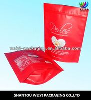 High Quality printed stand up ziplock bag for dog treats