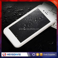 100% Real Waterproof Mobile Phone Plastic Case for iPhone 5s 5 5c Case wholesale