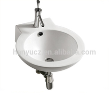 HY-470 Fashionable Design Oval Shape Bathroom Wash Hand Basin