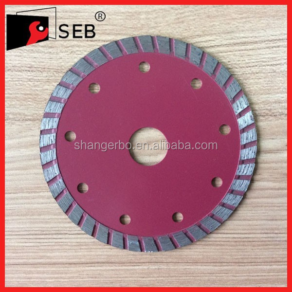 150 cold pressed diamond saw blade with flange for cutting granite