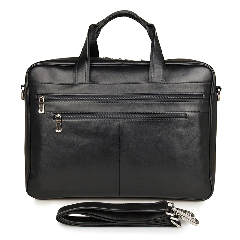 7319A J.<strong>M</strong>.<strong>D</strong> <strong>100</strong>% Genuine Leather Customizable Travel Bag Suit For 15 Inch Laptop Bag For Business Men