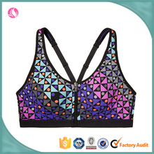 Women Sexy Front-close Fitness Wear Yoga Sports Bra Woman Sports Equipment