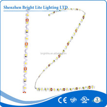 Best sellers high quality 2835 Warm White color 72LEDs S shape strip 2835 smd led