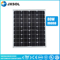 chinese cheap price clean energy 80w mono solar panel