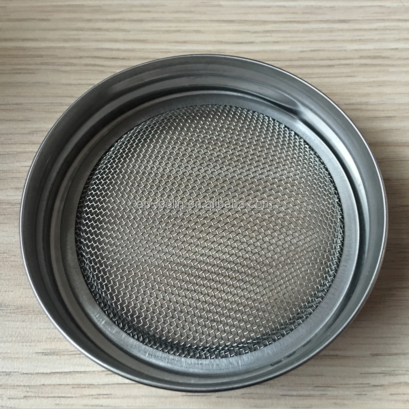 70mm 86mm 82.5mm Food grade stainless steel mesh mason jar sprouting screens