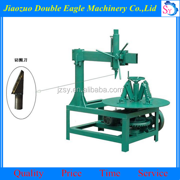 waste tyre cutting machine used tire recycling equipment for sale