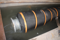 water/oil/mud/sand rubber self-floating dredging hose