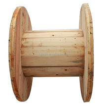 Timber pine wood cable reels