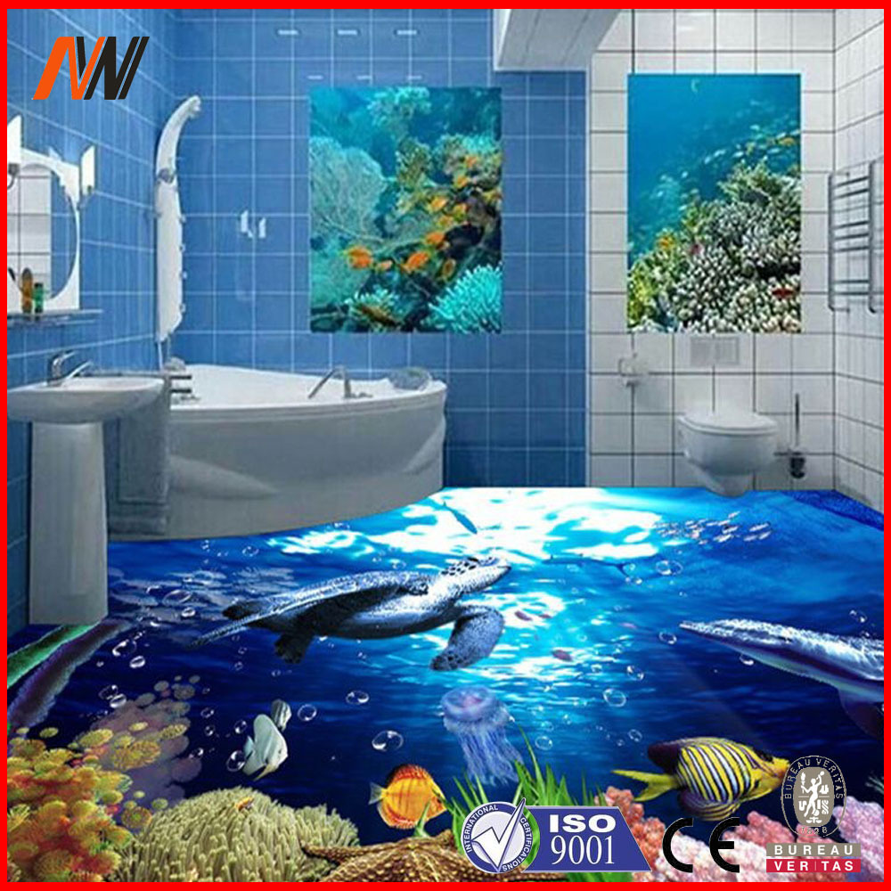 Fish tiles bathroom - 2015 Newest 3d Tile Bathroom Tile 3d Ceramic Floor Tile Tile 3d Buy Tile 3d 3d Tile Bathroom Tile 3d Ceramic Floor Tile Product On Alibaba Com