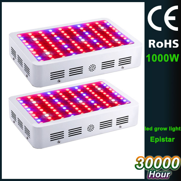 wholesale double chip 33000lm full spectrum 1000W led grow light panel