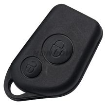 For Cit Elysee 2 Button Remote door key blank (Can insert key blade - With logo)