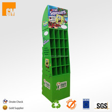 Pop Up Cardboard Corrugated Paper Partition Display for Candy