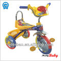 3 wheel childrens tricycle with metal frame