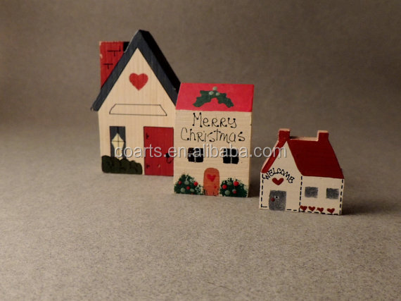 Vintage Figurines, Wooden Houses, Christmas Houses