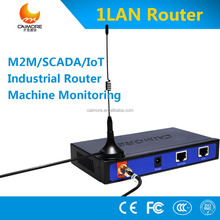 4G LTE wireless modem with 1LAN RJ45 industrial router support RS232 for smart IOT, M2M, SCADA
