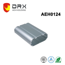 China supplier Aluminum electronic device shell extruded heatsink enclosure with 85mm width PCB slot
