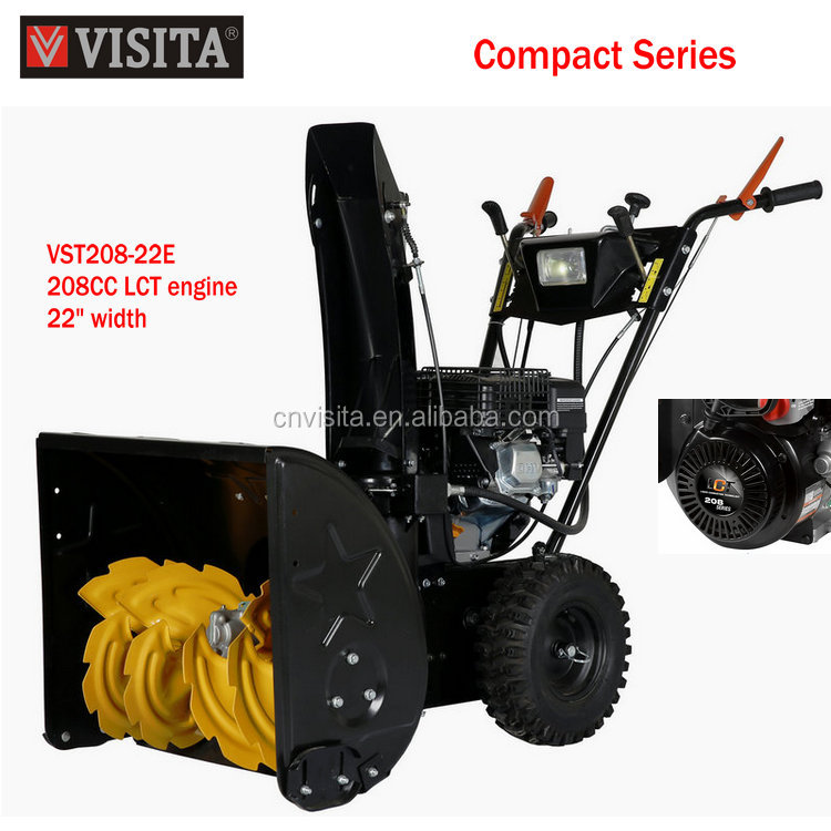 CE 208cc LCT High Quality Gasoline Snow Blower