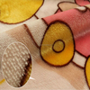 cute duck printed double-sided super soft flannel fabric for baby blanket