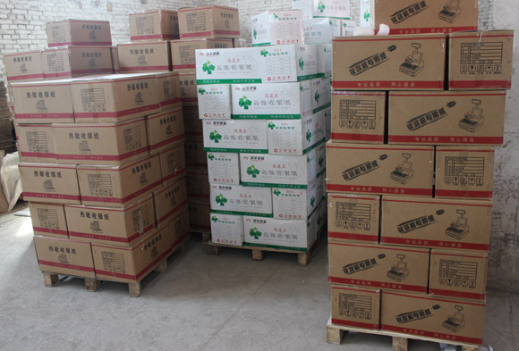 "brand new 3 1/8"" x210' Thermal paper roll ECO TYPE - 48 rolls in box POS Paper 80 x 80mm"