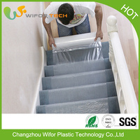 Surface Protection Temporary PE Adhesive Carpet Protector Film