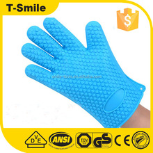 Microwave Oven Use Silicone Finger Tips Hand Grill Gloves For BBQ