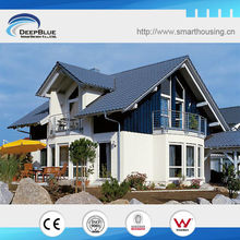 Luxury steel prefabricated villa projects