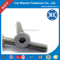 Hot selling factory price galvanized low head socket cap screw