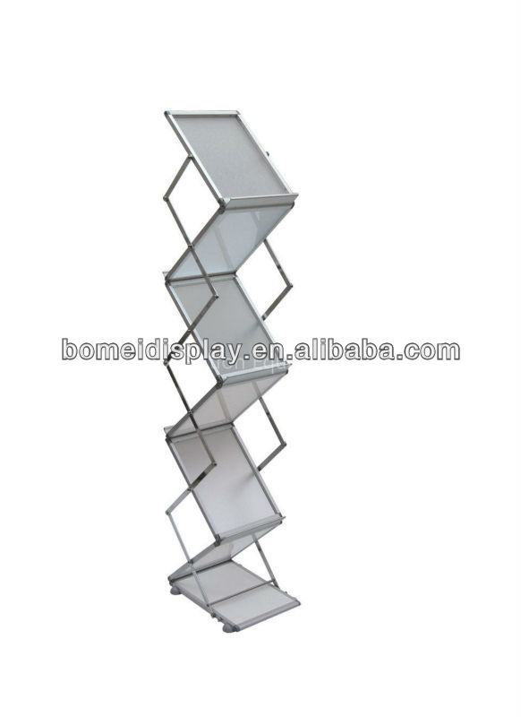 acrylic brochure display rack