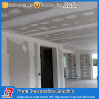 High quality mgo fire rated board use for building walls